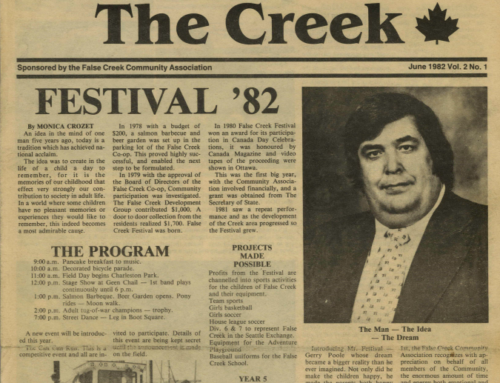 "Flashback: Ripples From ""The Creek"""