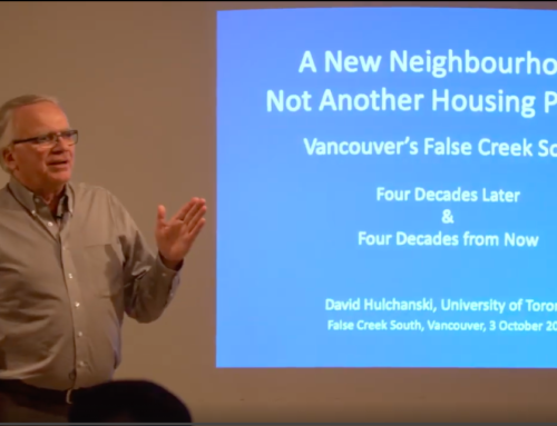 A New Neighbourhood, Not Another Housing Project  Vancouver's False Creek South Four Decades Later & Four Decades from Now